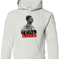 Real Love Youth  Hoodies  White