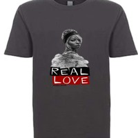 Real Love Youth T-Shirt Charcoal Grey