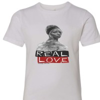 Real Love Youth T-Shirt  White