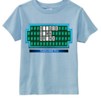 Light Blue Boogie Down Bronx Kids T-Shirt