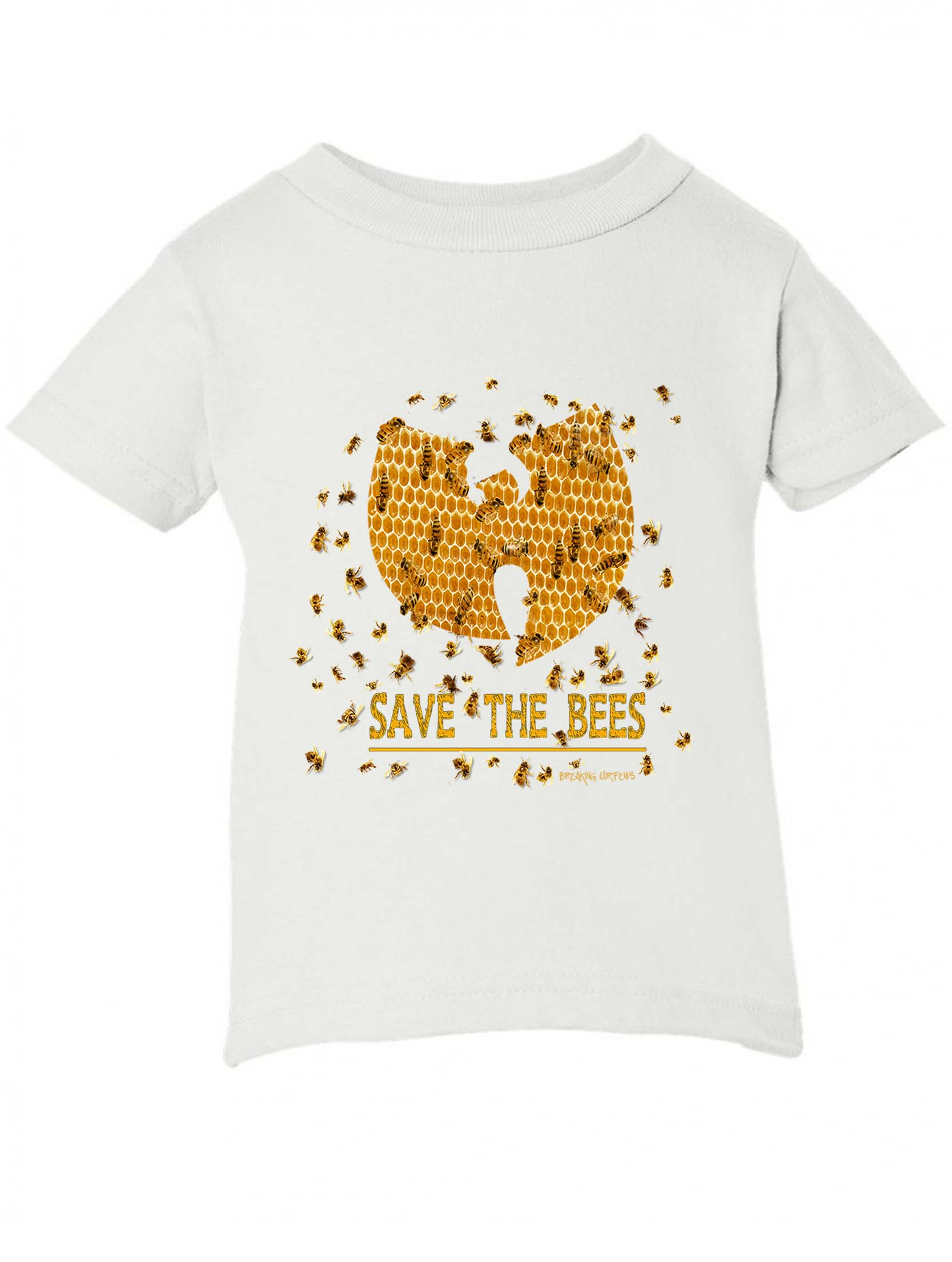 234f11c4cdc Breaking Curfews » Save The Bees Wu Tang Clan Kids T-Shirt