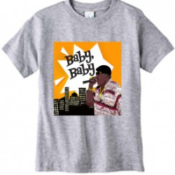 Athletic Heather Notorious BIG Baby Baby Kids T-Shirt
