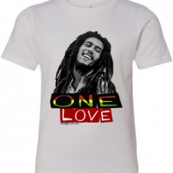 Bob Marley One Love Youth Graphic T-Shirt White