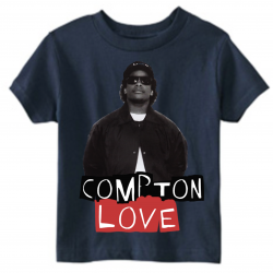 Compton Love Navy Kids T-Shirt