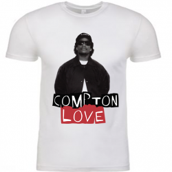 Compton Love White Mens T-Shirt (1)