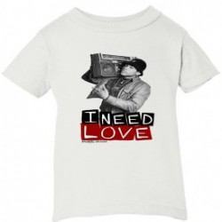 I Need Love Kids T-Shirt White