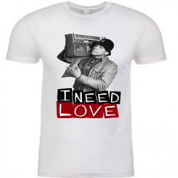 I Need Love White Mens T-Shirt