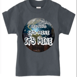 Its Mine Heavy Metal Kids T-Shirt