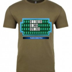 Military Green Boogie Down Bronx Mens T-Shirt