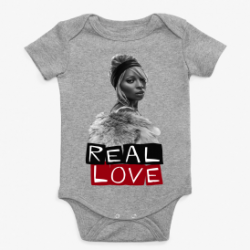 Real Love Mary J Blige Baby Onesie