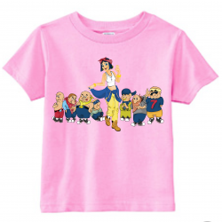 Snow Blanca Kids T-Shirt Light Pink