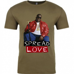 Spread Love Mens T-Shirt-Recovered