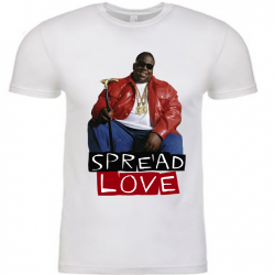 Spread Love White Mens T-Shirt-Recovered