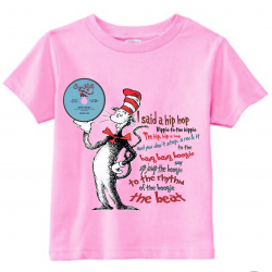 Sugarville Seuss Kids T-Shirt Light Pink