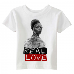 real  love kids tshirt